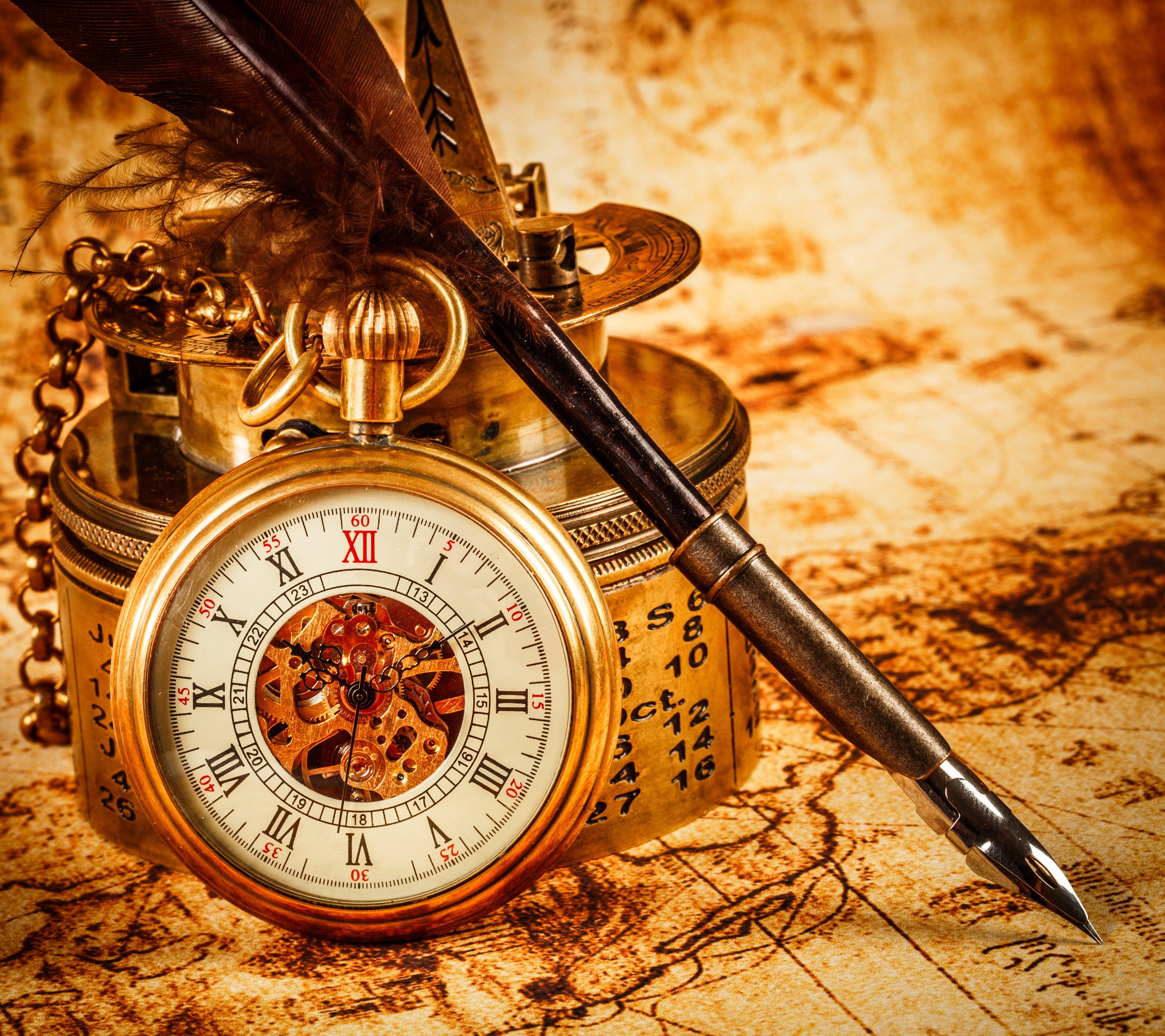 Pocket Watch Time Clock Bokeh Wallpaper 3909x3475 401842