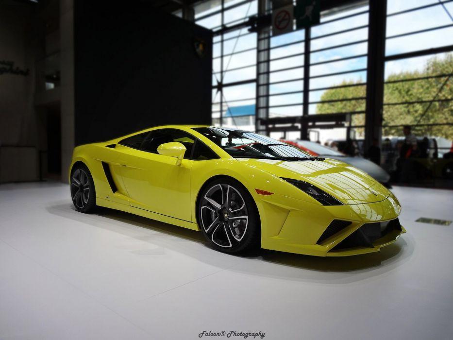 jaune yellow giallo Gallardo italian lamborghinini Supercar wallpaper