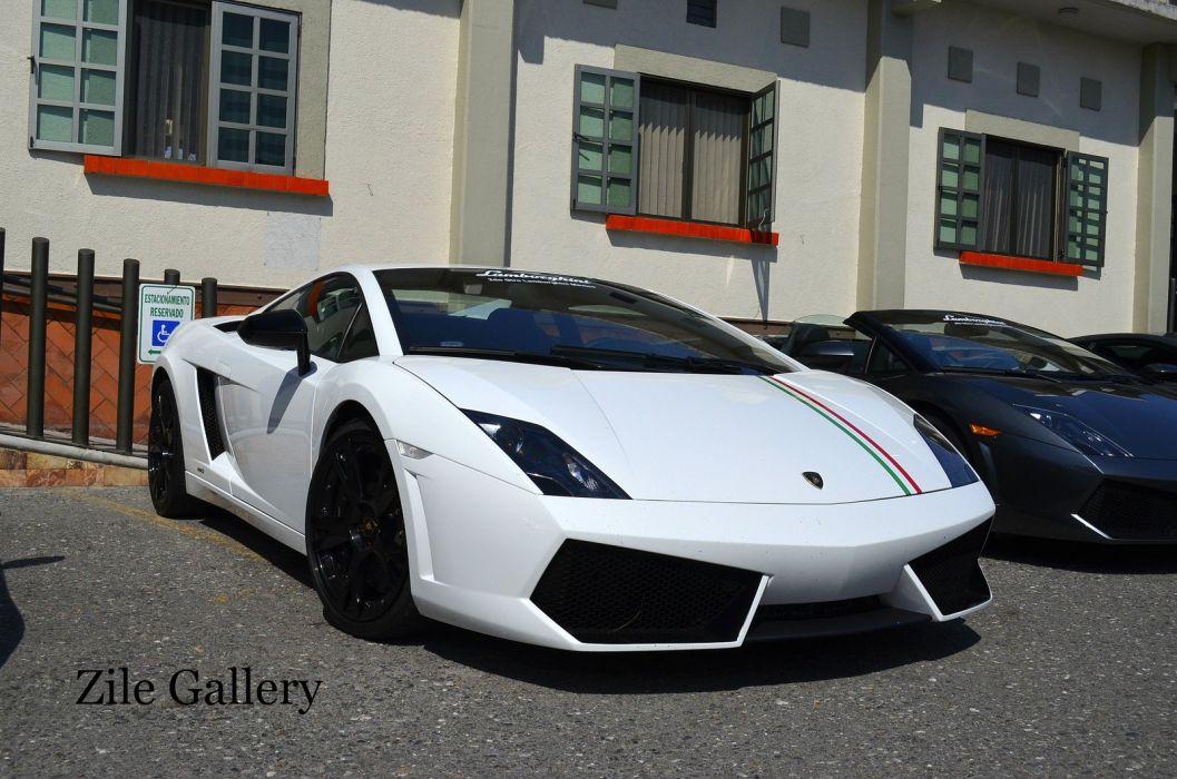 Gallardo blanc italian bianco lamborghinini Supercar white wallpaper