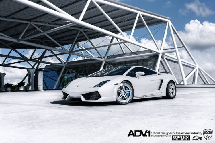 Gallardo blanc italian bianco lamborghinini Supercar white wallpaper