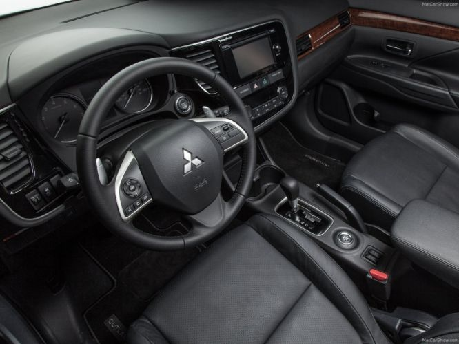2014 Mitsubishi Outlander suv interior wallpaper