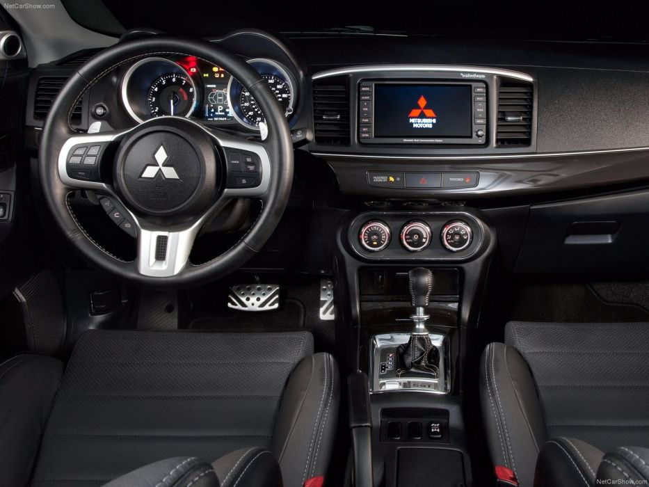 Lovely Mitsubishi Lancer Evolution M R 2011 Sportcars Interior Wallpaper
