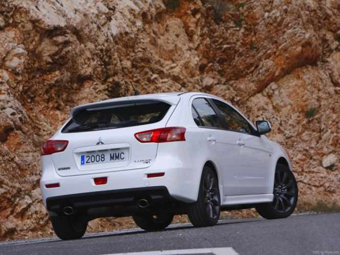 2009 Mitsubishi Lancer Sportback Ralliart wallpaper