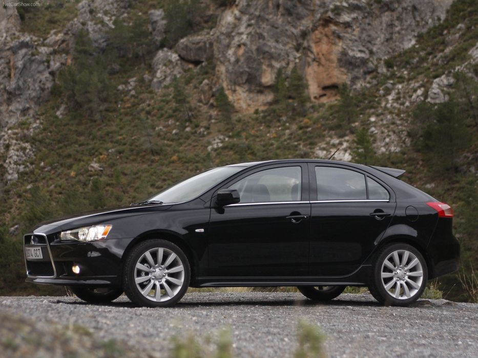 2009 lancer mitsubishi Sportback wallpaper