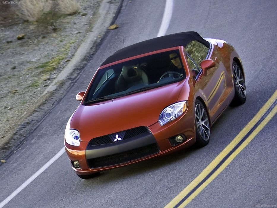 Mitsubishi Eclipse Spyder GT 2009 wallpaper