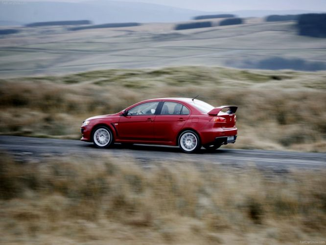 Mitsubishi Lancer Evolution X 2008 sportcars japan wallpaper