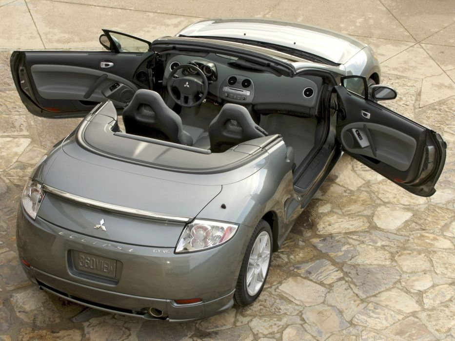 Mitsubishi Eclipse Spyder 2007 wallpaper