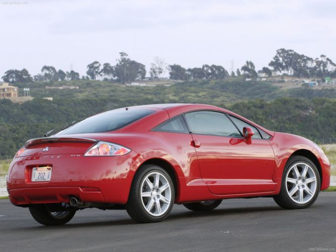 Mitsubishi Eclipse gt 2007 wallpaper