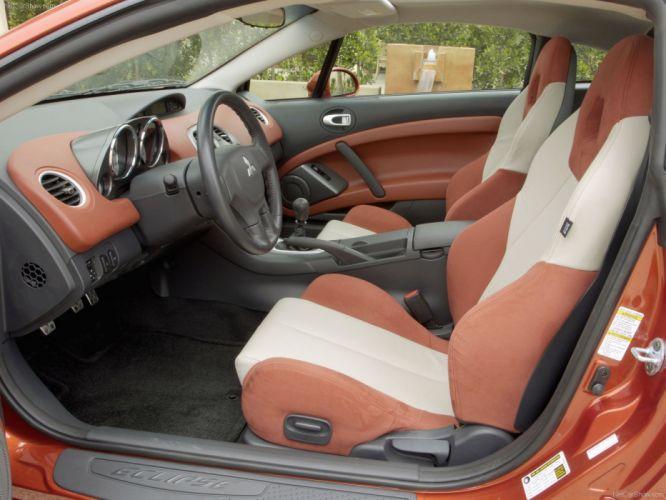 Mitsubishi Eclipse gt 2007 interior wallpaper