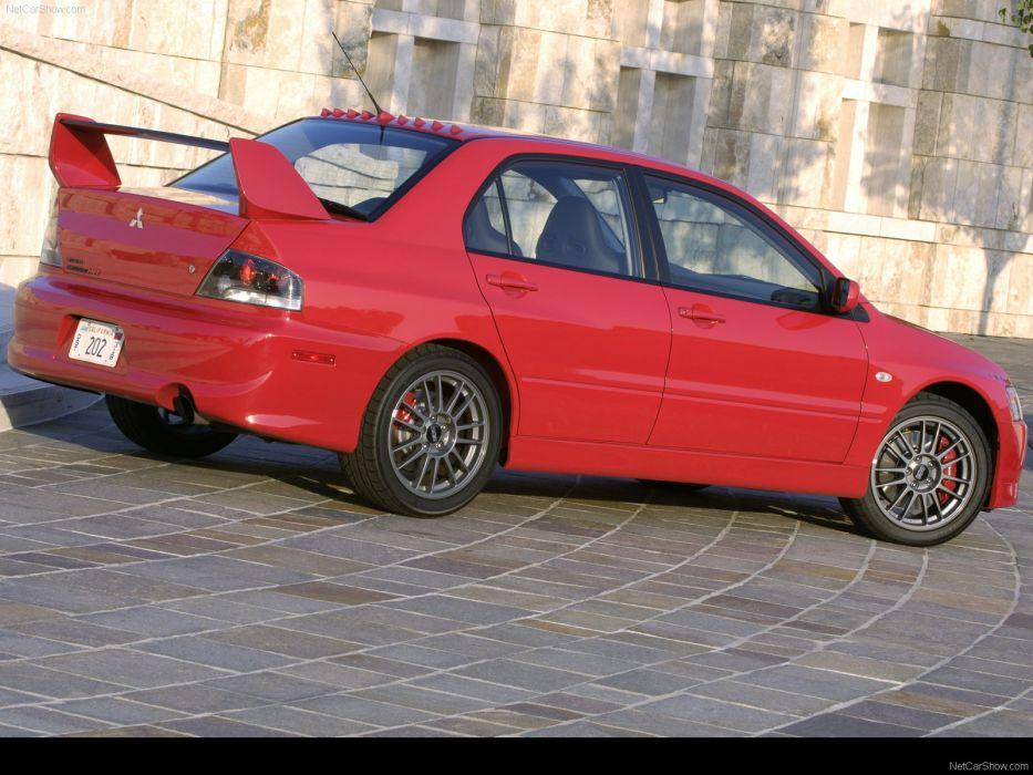 Mitsubishi Lancer Evolution MR 2006 sportcars wallpaper