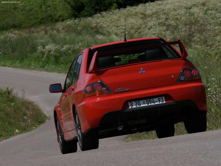 Mitsubishi Lancer Evolution IX 2005 sportcars wallpaper
