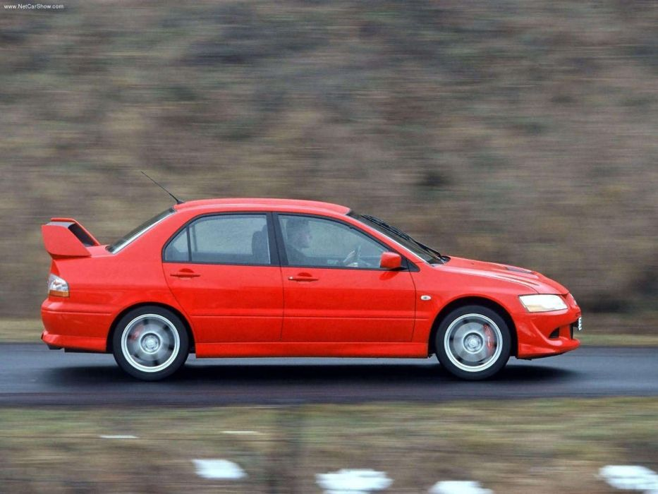 Mitsubishi Lancer Evolution VIII European Version 2004 sportcars wallpaper