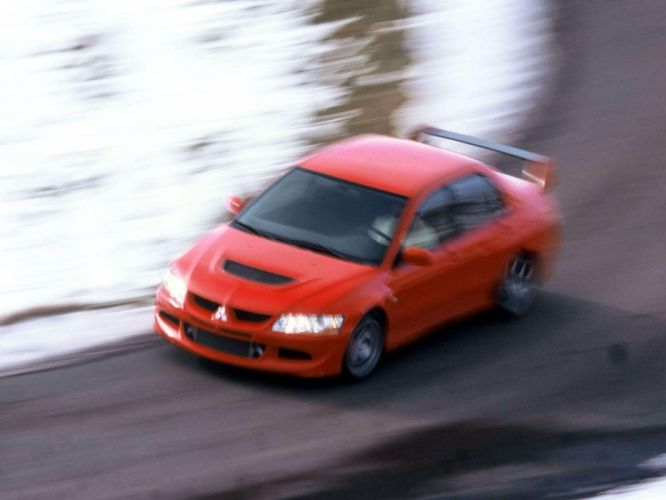 Mitsubishi Lancer Evolution VIII European Version 2004 sportcars wallpaper