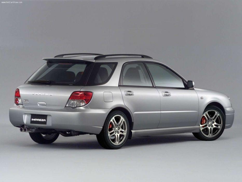 Subaru Impreza Sports Wagon 2004 break suv wallpaper