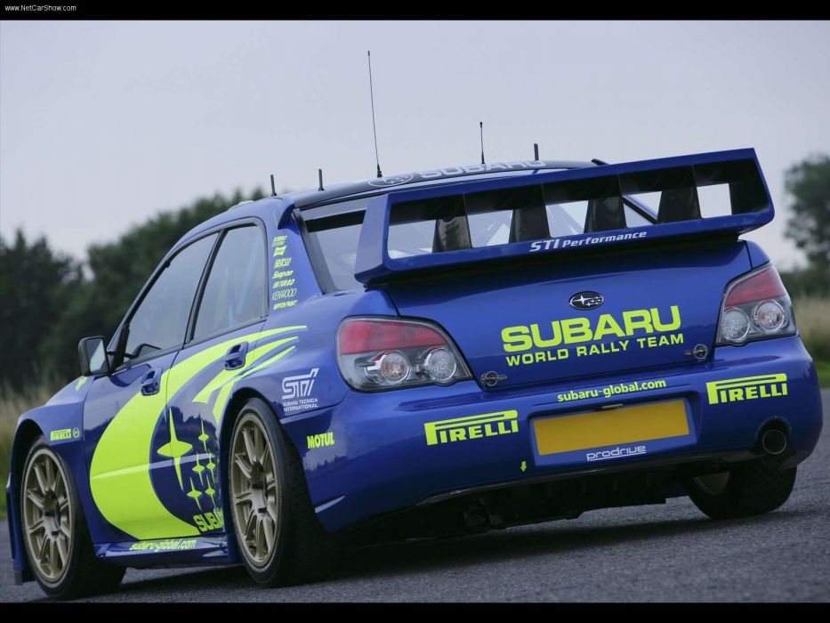 Subaru Impreza WRC Prototype rallycars 2006 wallpaper
