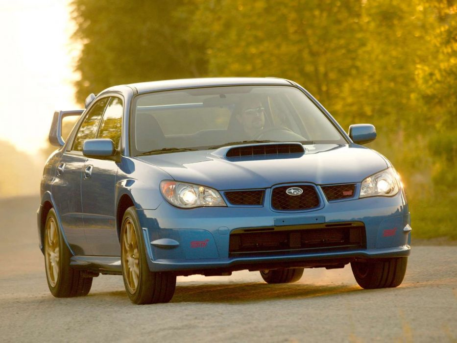 Subaru Impreza WRX STI 2006 sportcars wallpaper
