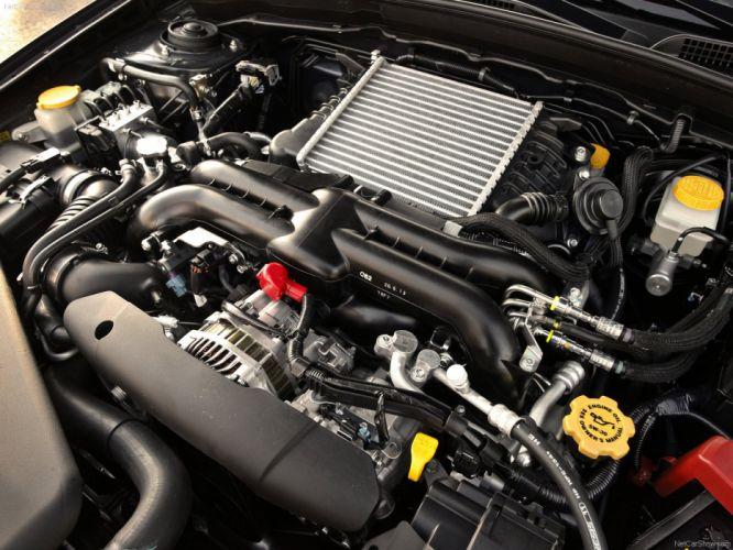 Subaru Impreza WRX STi 2009 sportcars engine wallpaper