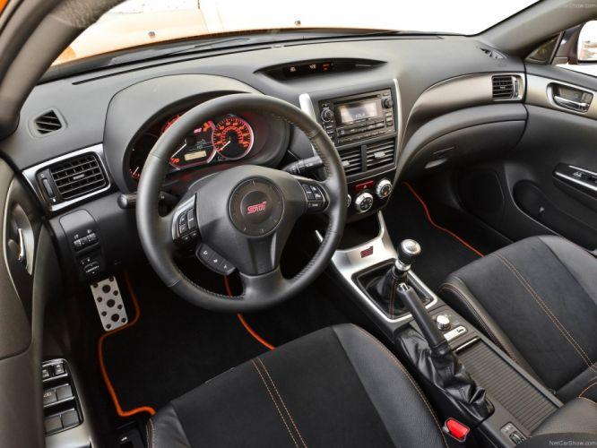 2013 Subaru Impreza WRX STI Special Edition sportcarsorange wallpaper
