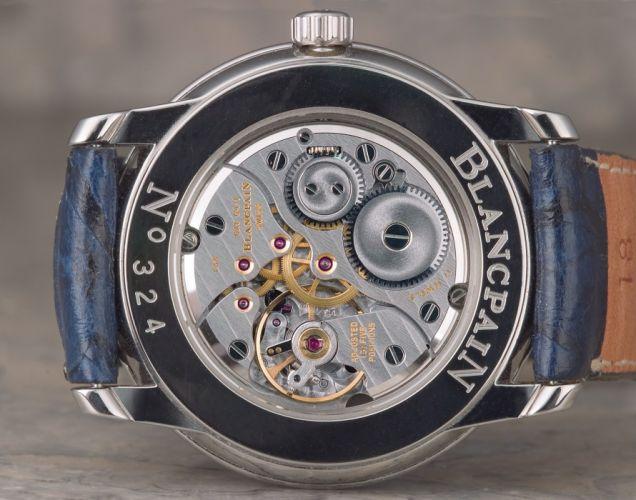 BLANCPAIN watch time clock (10) wallpaper