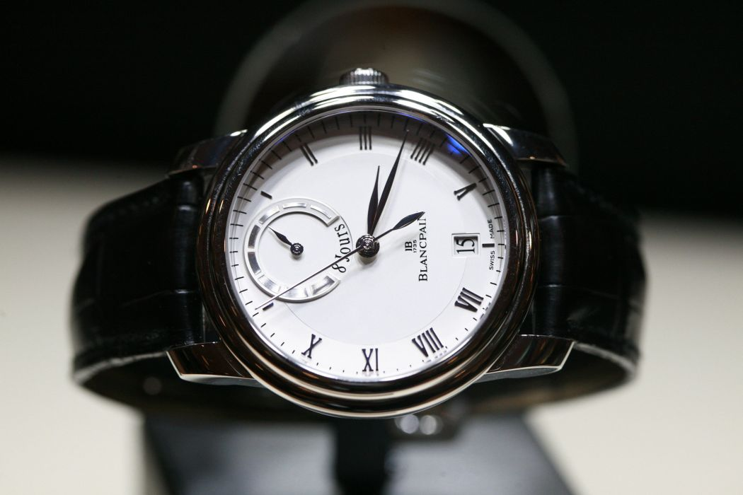 BLANCPAIN watch time clock (23) wallpaper