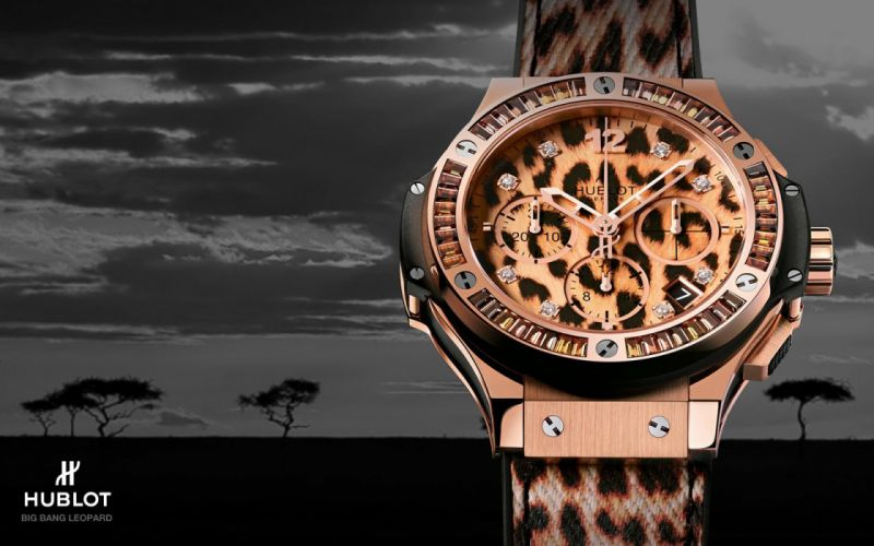 HUBLOT watch time clock (4) wallpaper