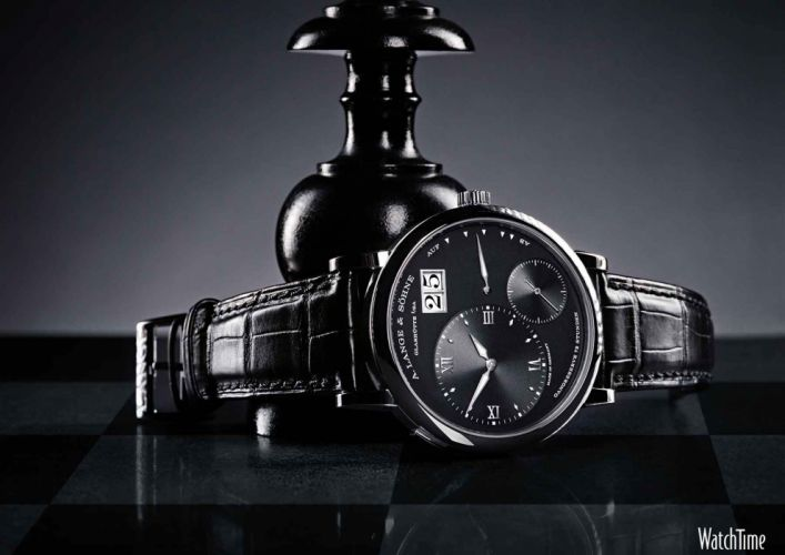 LANGE SOHNE watch time clock (2) wallpaper