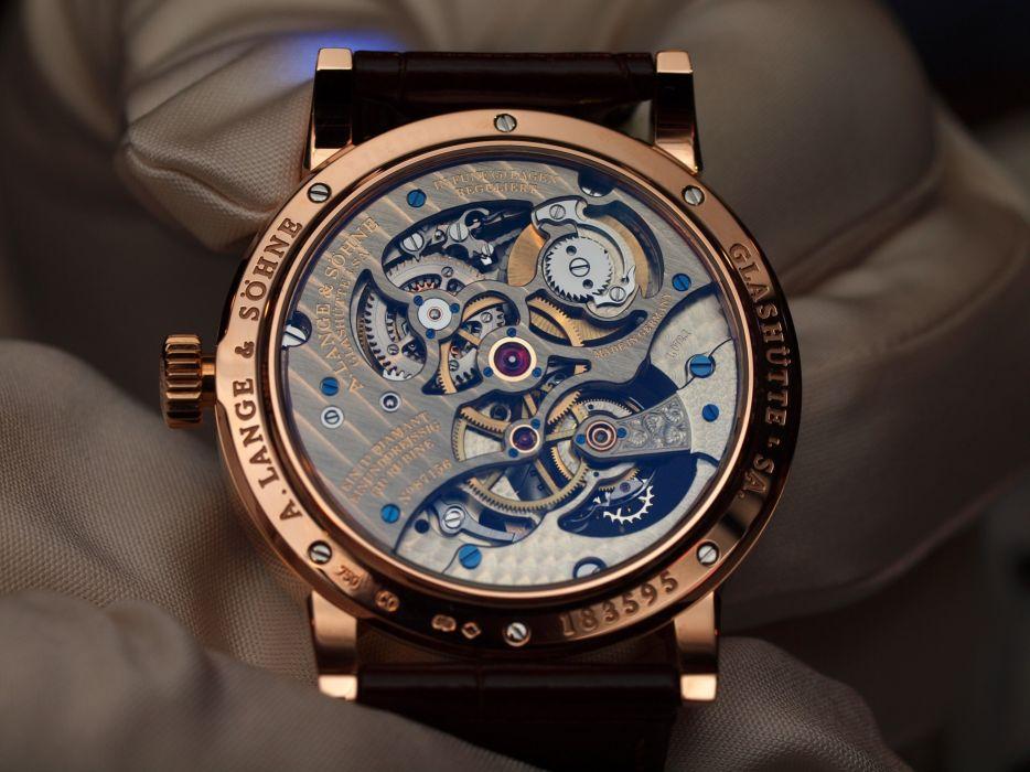 LANGE SOHNE watch time clock (19) wallpaper