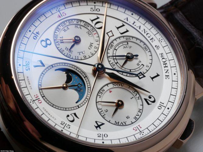 LANGE SOHNE watch time clock (56) wallpaper