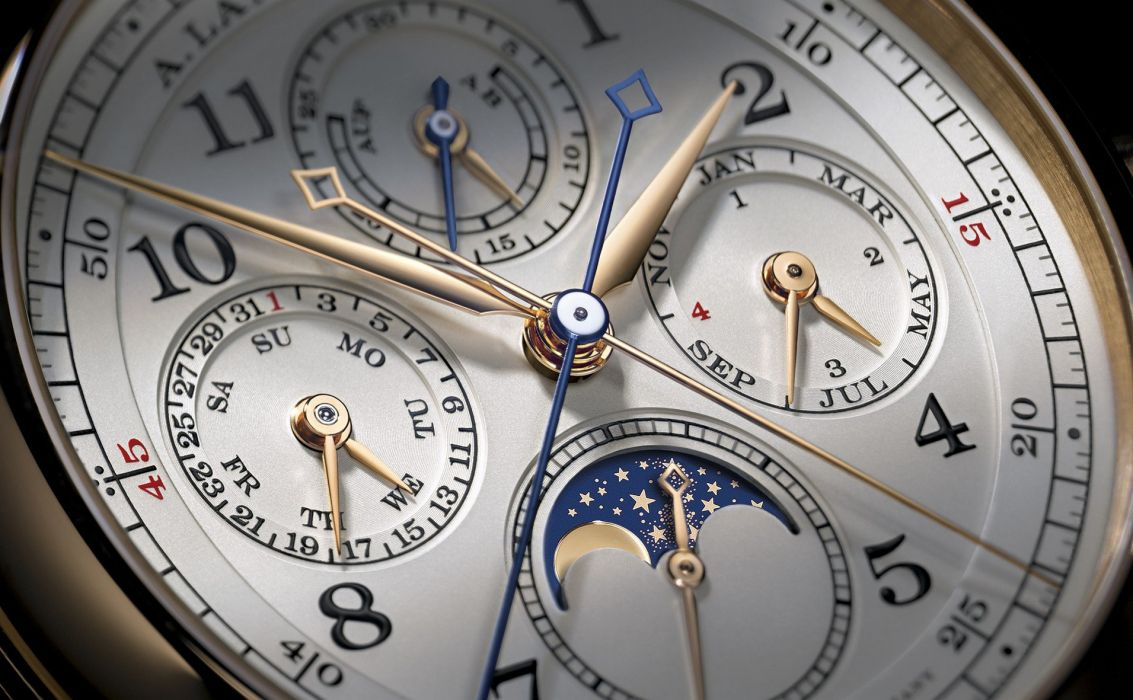 LANGE SOHNE watch time clock (69) wallpaper