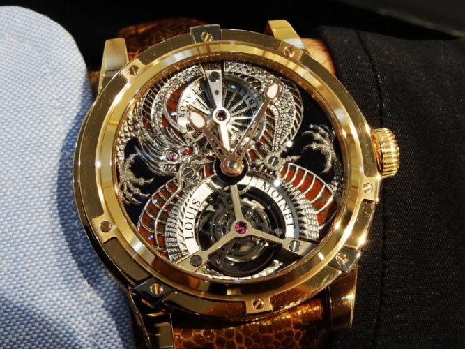 LOUIS MOINET watch clock time (1) wallpaper