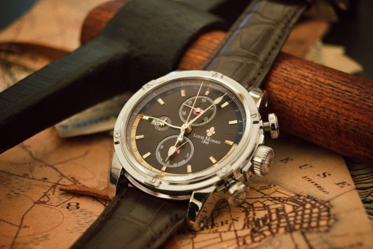 LOUIS MOINET watch clock time (2) wallpaper