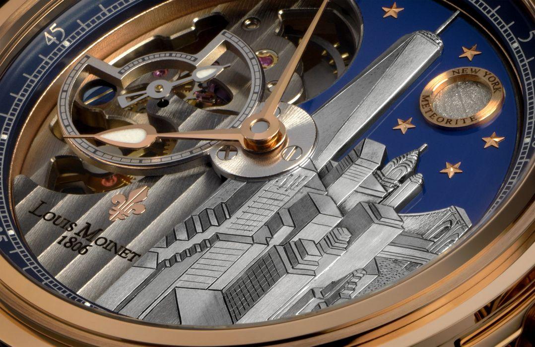 LOUIS MOINET watch clock time (6) wallpaper
