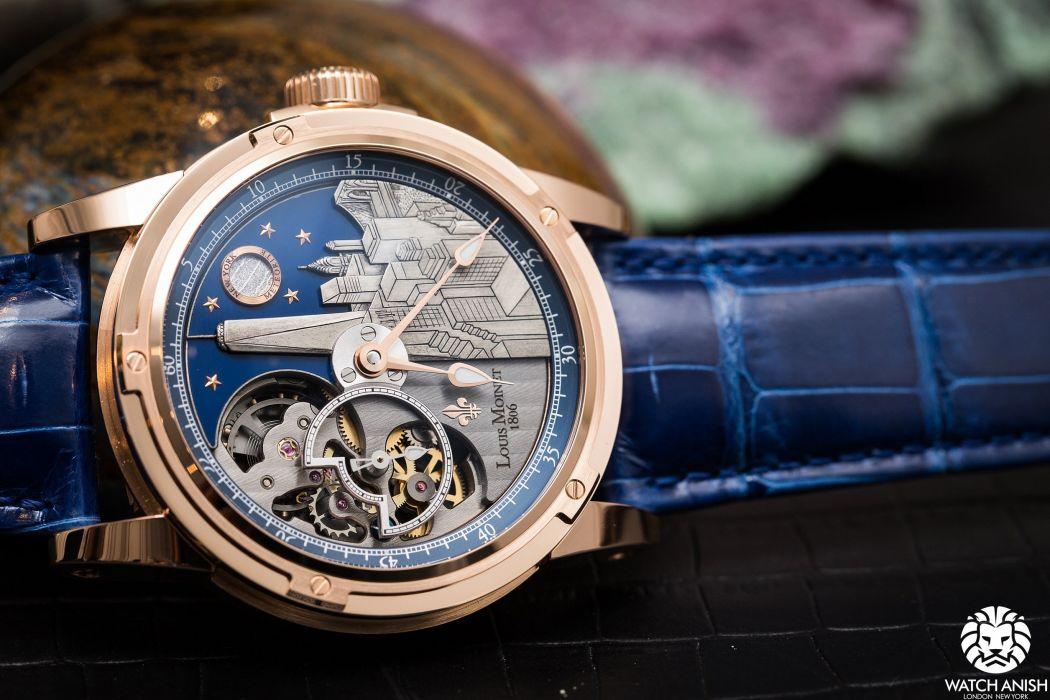 LOUIS MOINET watch clock time (10) wallpaper
