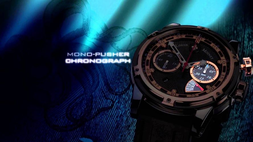 LOUIS MOINET watch clock time (19) wallpaper