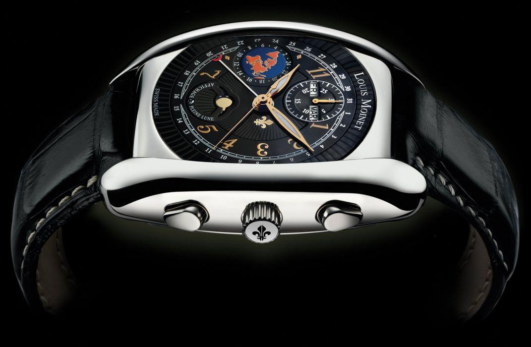 LOUIS MOINET watch clock time (30) wallpaper