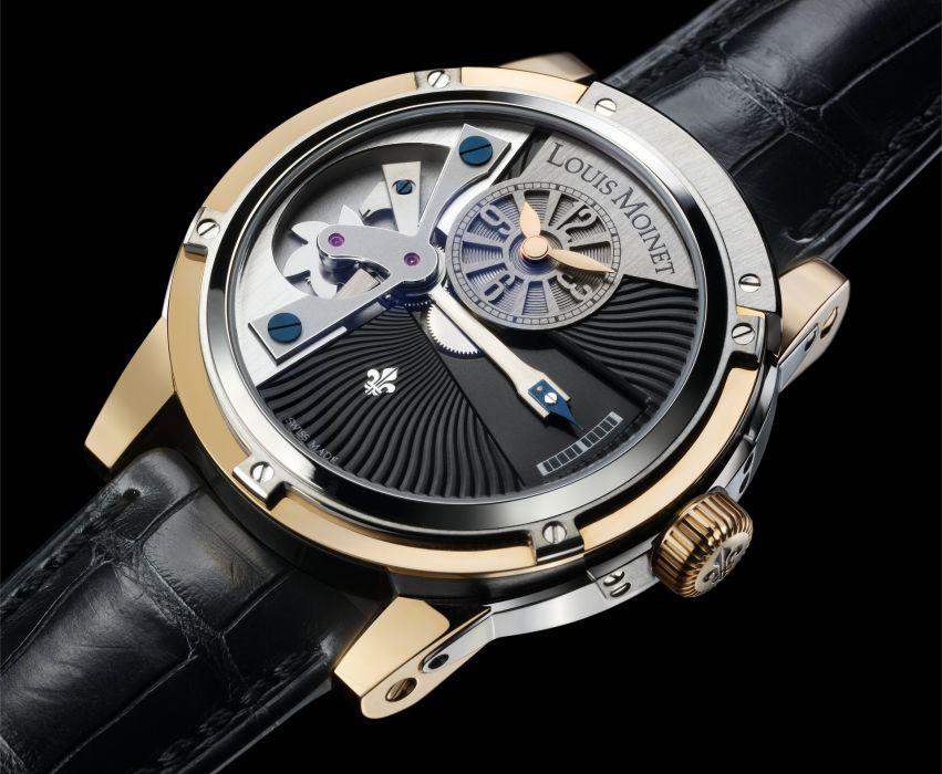 LOUIS MOINET watch clock time (58) wallpaper