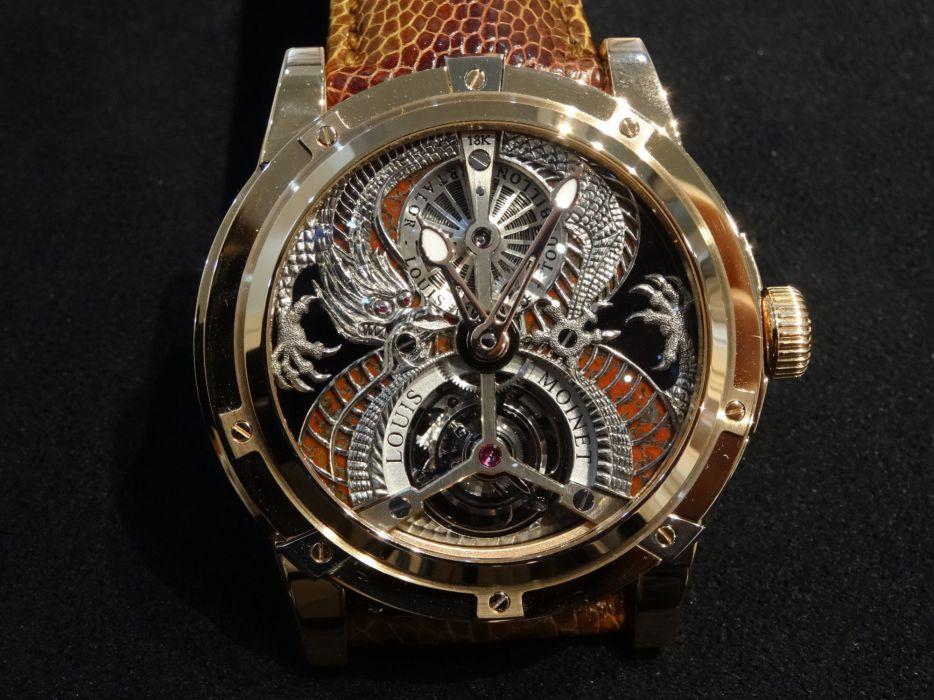 LOUIS MOINET watch clock time (66) wallpaper