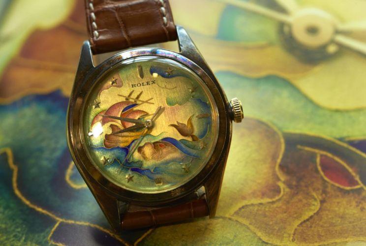 ROLEX watch time clock (54) wallpaper