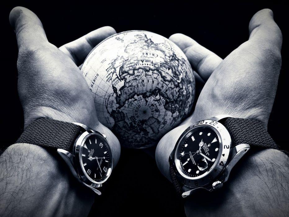 ROLEX watch time clock (75) wallpaper