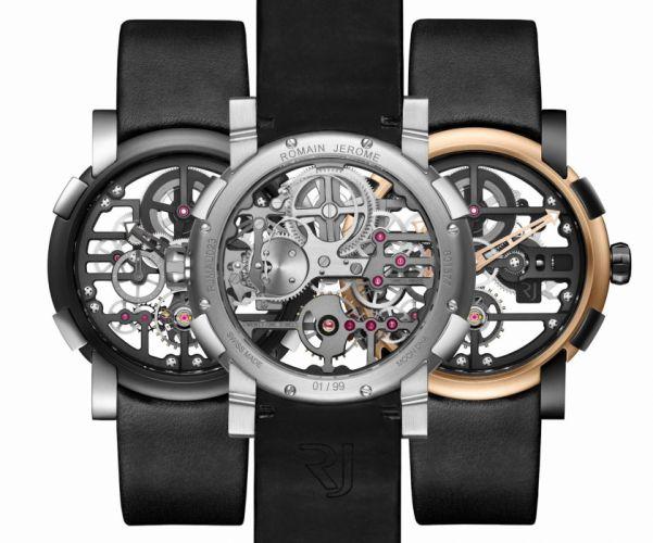 ROMAIN JEROME watch time clock (35) wallpaper