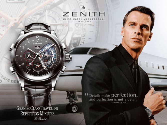 ZENITH watch clock time (24) wallpaper