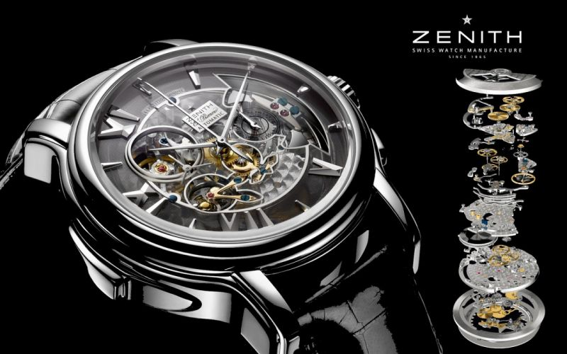 ZENITH watch clock time (47) wallpaper