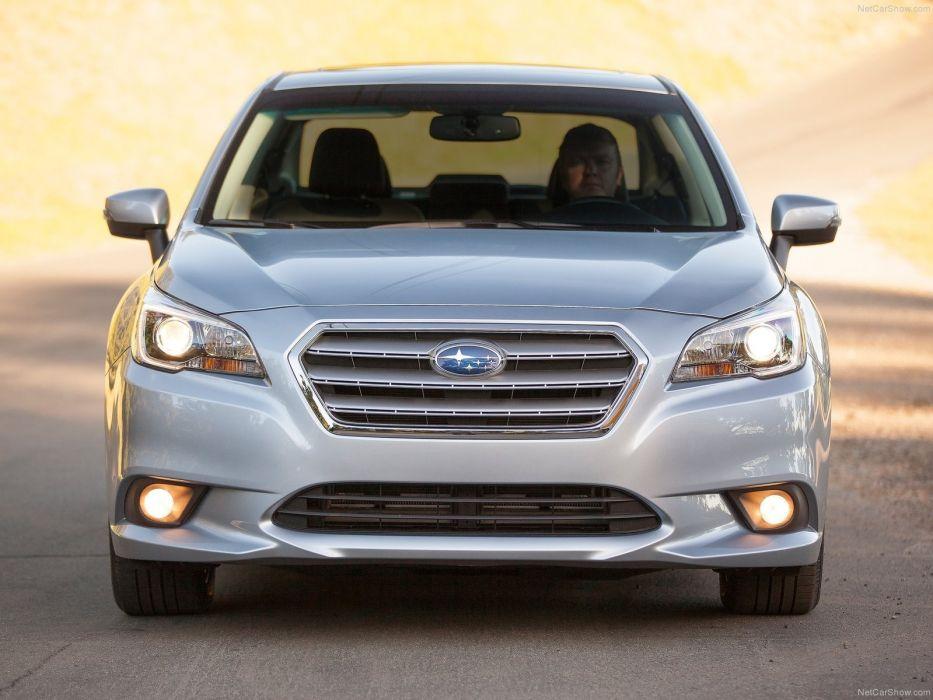 Subaru Legacy sedan 2015 wallpaper