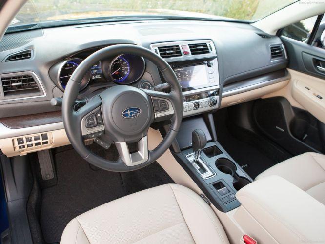 Subaru Legacy sedan 2015 interior wallpaper