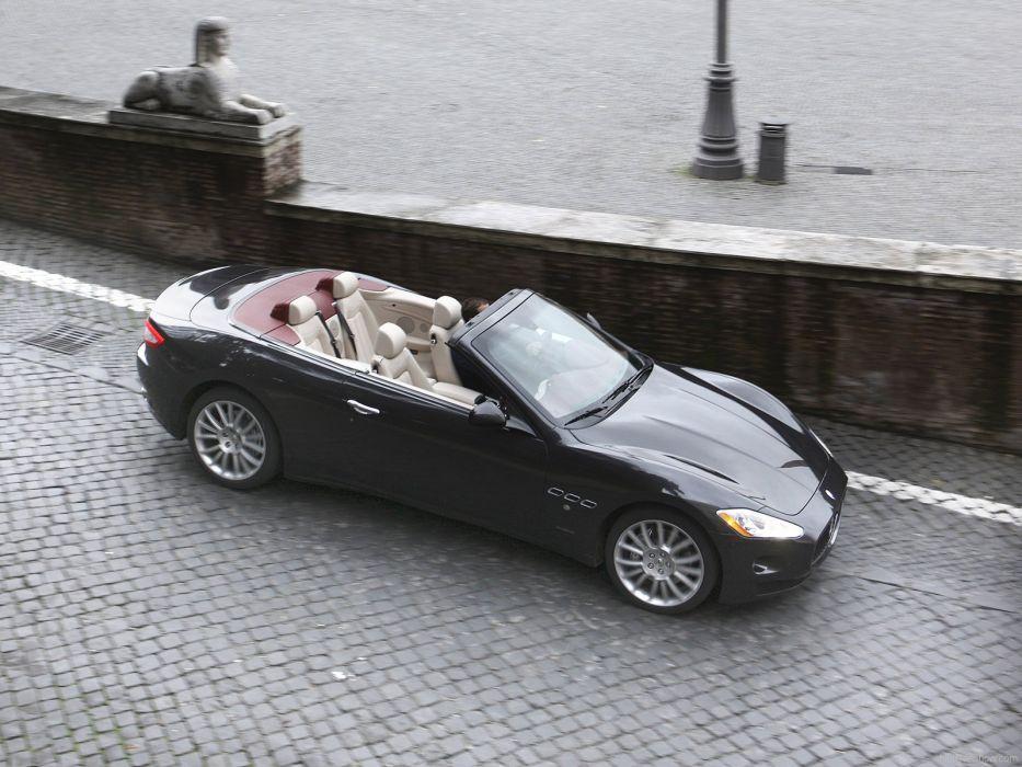 cars GranCabrio Maserati vehicles spider cabriolet v 8 wallpaper