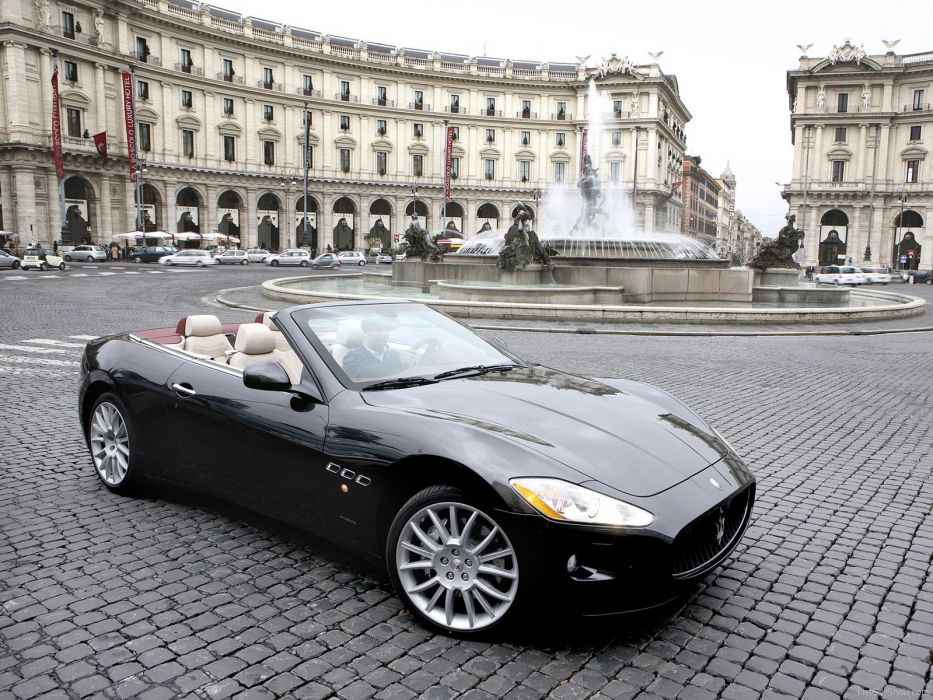 cars GranCabrio Maserati vehicles spider cabriolet v 8 wallpaper