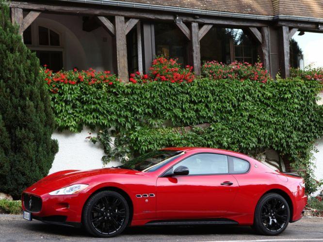2010 Maserati GranTurismo S Automatic v8 coupe supercars wallpaper