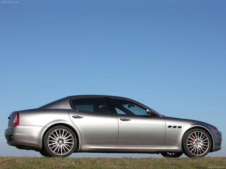 Maserati Quattroporte Sport GT S italian v8 wallpaper