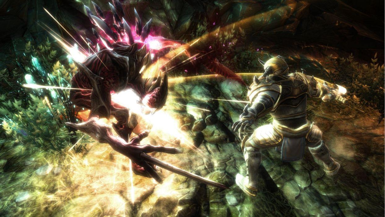 KINGDOMS OF AMALUR fantasy action rpg fighting wallpaper