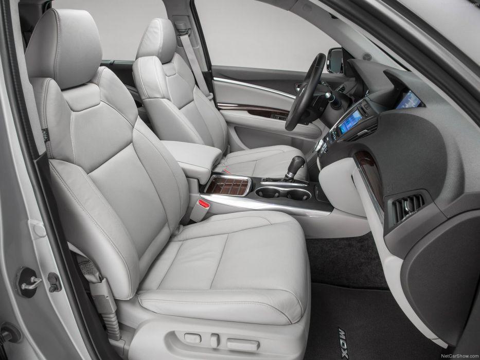 Acura MDX 2014 suv interior wallpaper